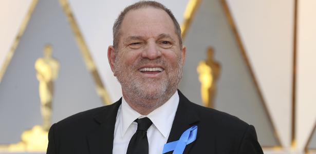 Harvey Weinstein no tapete vermelho do Oscar 2017