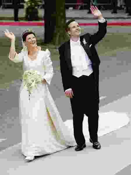 2002 - Princesa Martha Louise e Ari Behn, da Noruega - Getty Images