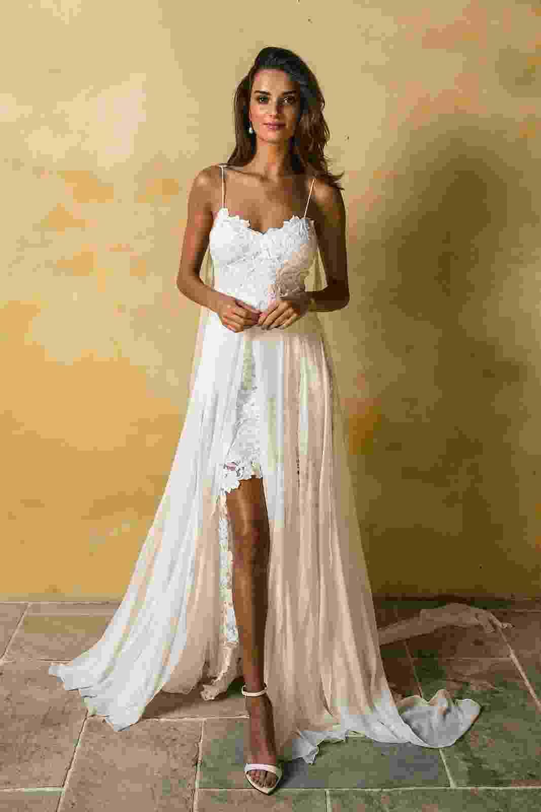 O vestido de noiva queridinho do Pinterest foi salvo mais de 2,5 milhões de vezes - Divulgação