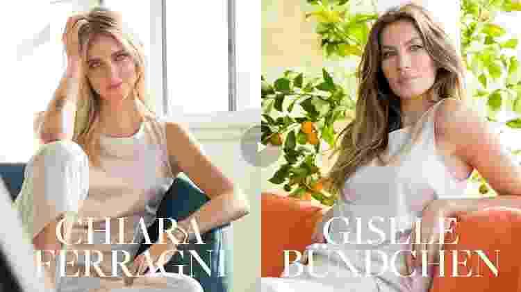 Chiara Ferragni e Gisele Bündchen - Divulgação - Divulgação