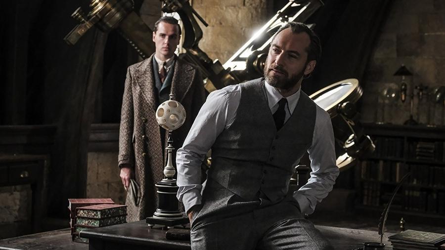"""Jude Law é o jovem Dumbledore em """"Animais Fantásticos: Os Crimes de Grindelwald"""" - Divulgação"""