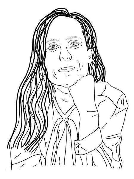 Uma das artes criadas em homenagem à Sara Danius nos protestos feitos nas redes sociais - Reprodução/Instagram @mariagrafik