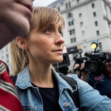 A atriz Allison Mack - Drew Angerer/Getty Images