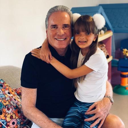 Roberto Justus e a filha, Rafaella - Instagram/@robertoljustus