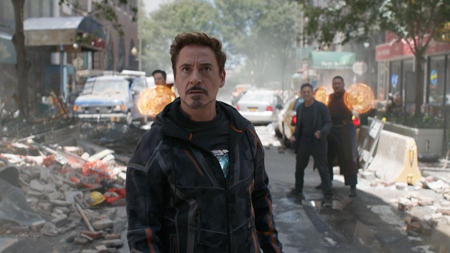 """Robert Downey Jr. em cena de """"Vingadores: Guerra Infinita"""" - Reprodução"""