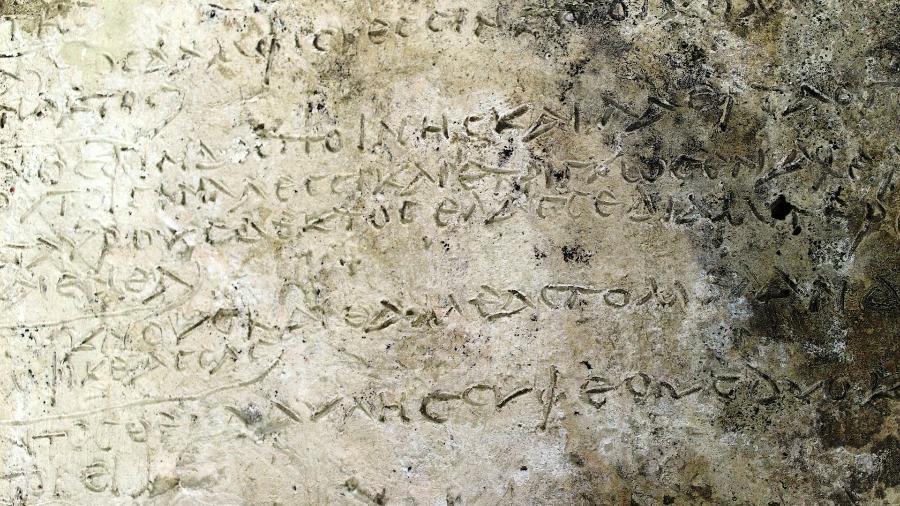"""Trecho da """"Odisseia"""", de Homero, descoberto na Grécia - Reuters"""