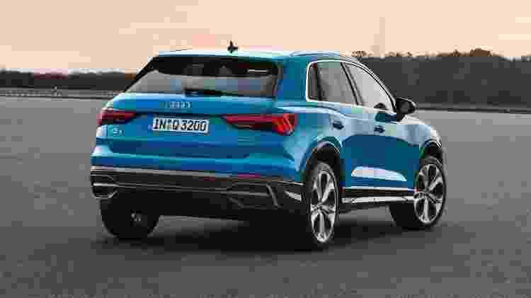 Audi Q3 traseira - Divulgação - Divulgação