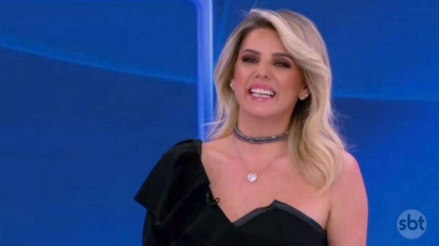 """Mari Alexandre participa do """"Programa Silvio Santos"""" - Reprodução/SBT"""