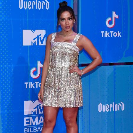 Anitta posada no EMA - Carlos Alvarez/Getty Images