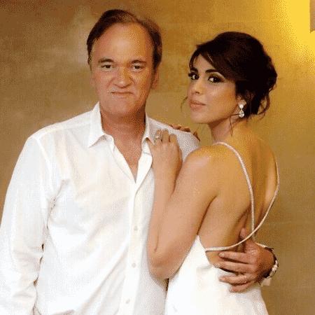 Quentin Tarantino e Daniella Pick - Reprodução/Instagram