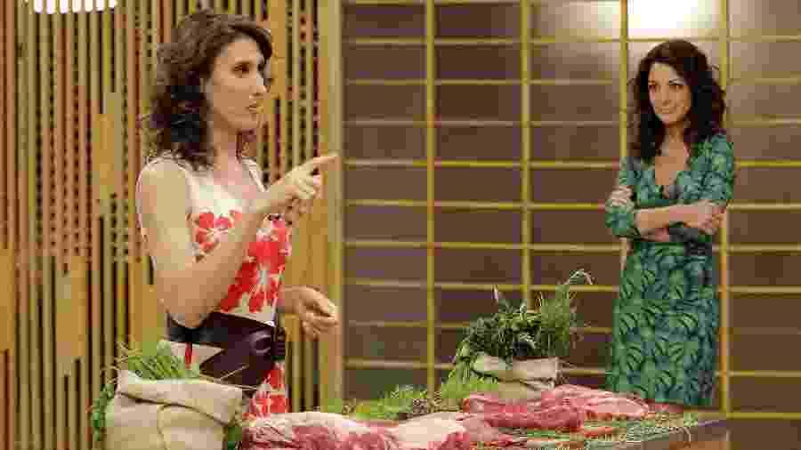 """Paola Carosella e Ana Paula Padrão no """"MasterChef"""", um programa que sempre bomba nas redes sociais  - Reinaldo Canato/UOL"""