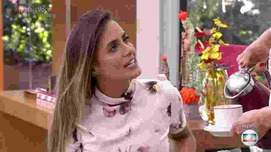 """Carol Peixinho no """"Mais Você"""" - Reprodução/Globo"""