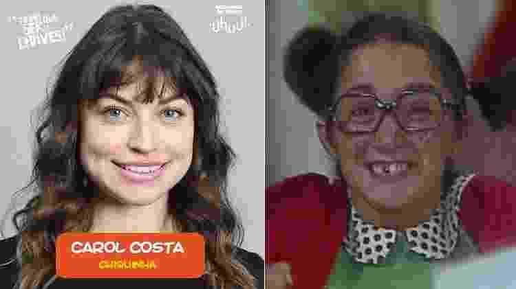 """Carol Costa interpretará Chiquinha em """"Chaves - Um Tributo Musical"""" - Montagem/UOL - Montagem/UOL"""