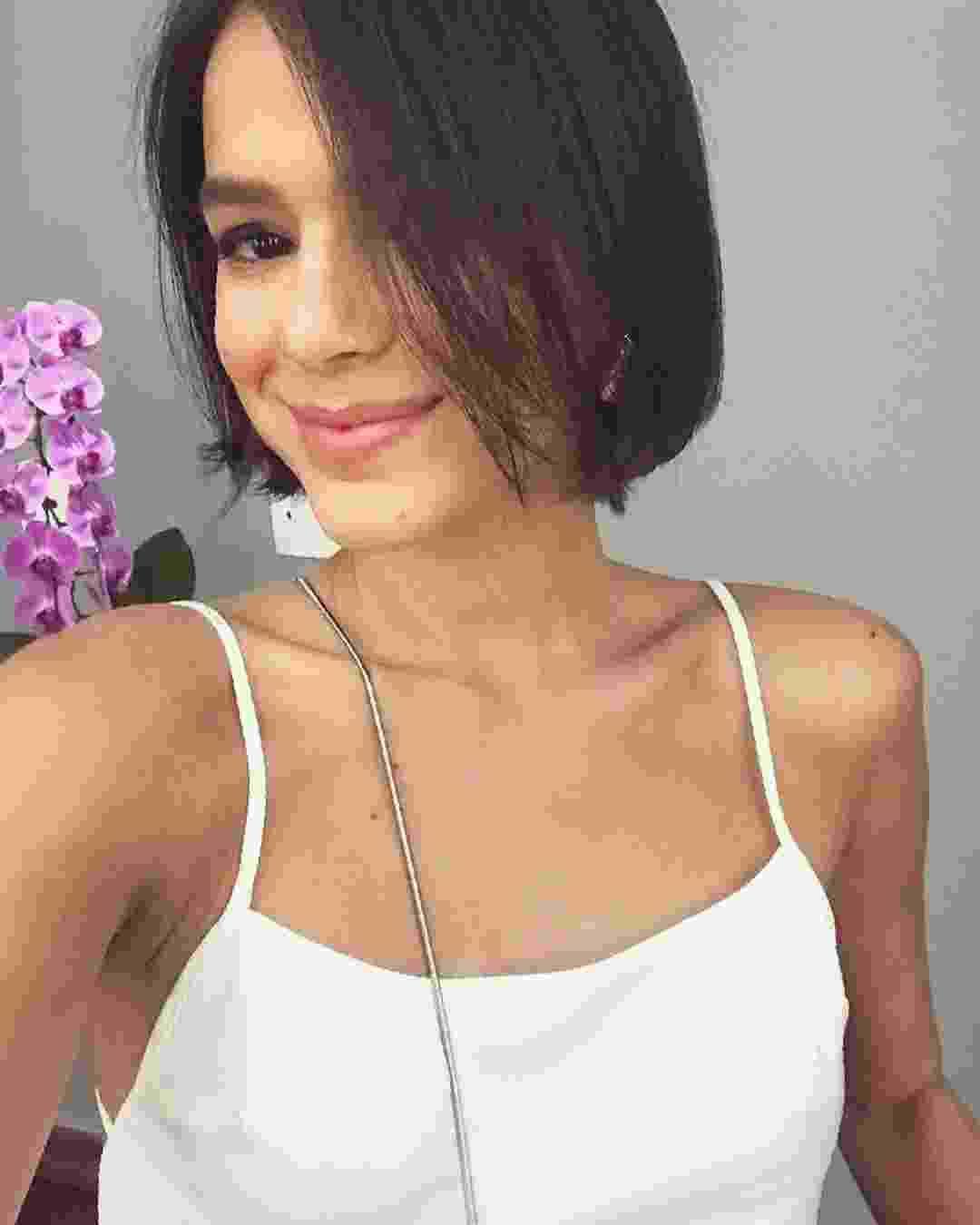 Cabelos de Bruna Marquezine - Chanel curto - Reprodução/Instagram