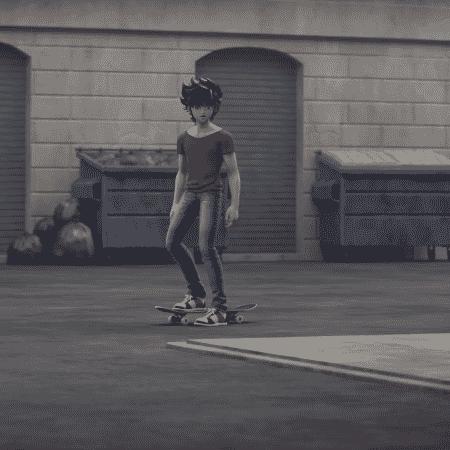 Seiya anda de skate em Os Cavaleiros do Zodíaco, anime da Netflix - Reprodução
