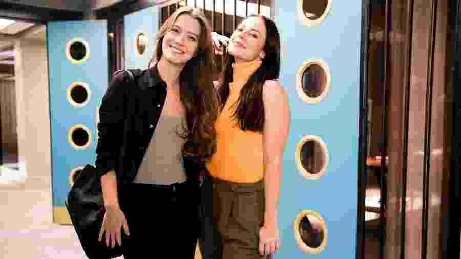 """Nathalia Dill e Paola Oliveira são as irmãs Fabi e Vivi em """"A Dona do Pedaço"""" - Globo/João Miguel Júnior"""