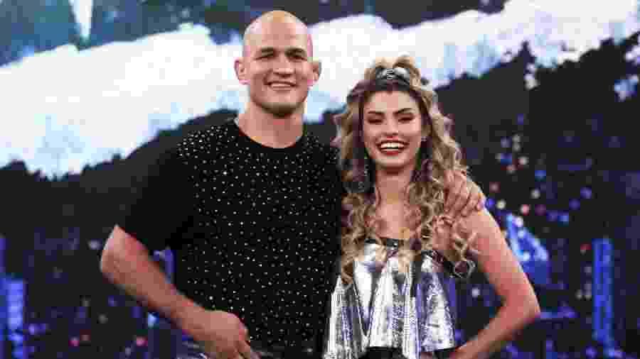 Junior Cigano e  Ana Paula Guedes na Dança dos Famosos 2019 - Joca Costa/TV Globo