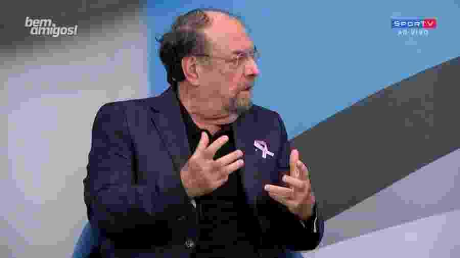 Marco Antônio Rodrigues, no Bem, Amigos! - Reprodução/SporTV