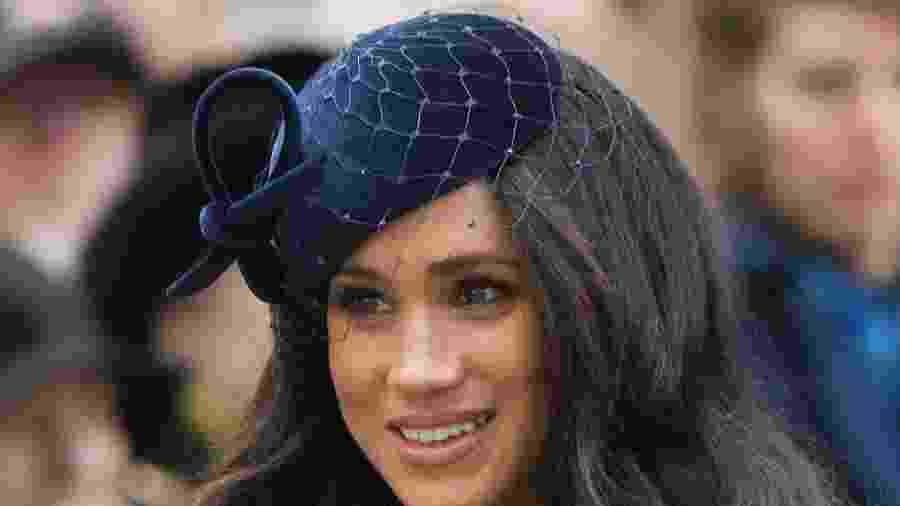 Meghan Markle adota maquiagem glamourosa para evento - Samir Hussein/WireImage