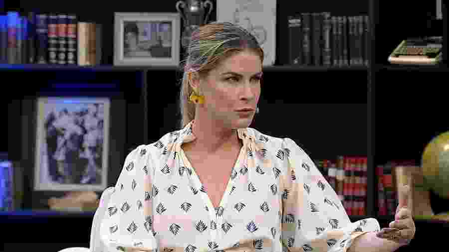 """Rita Lobo no programa """"Mariana Godoy Entrevista"""" - Divulgação/RedeTV!"""