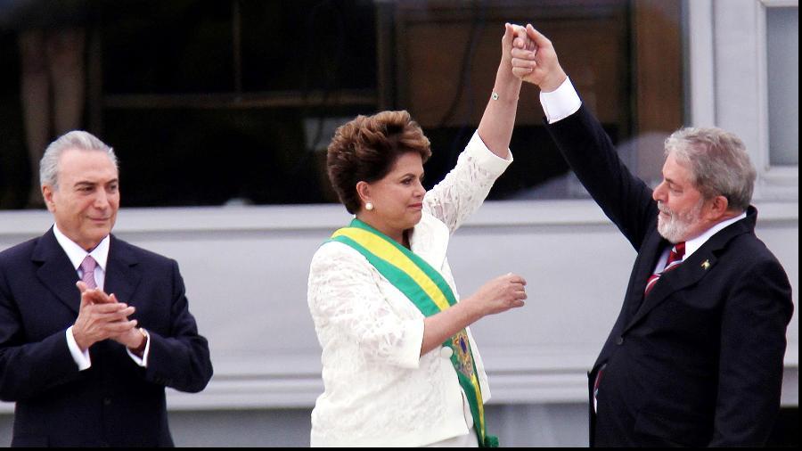 Posse da presidente Dilma, um dos momentos retratados em Democracia em Vertigem - Divulgação/Netlfix