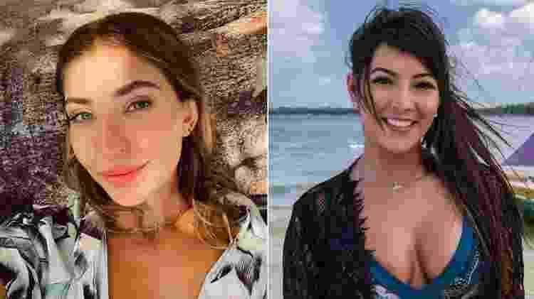 Mina e Flávia protagonizam a primeira suíte master da sexta temporada do 'De Férias com o Ex' - Fotomontagem/Reprodução/Instagram/Divulgação/MTV