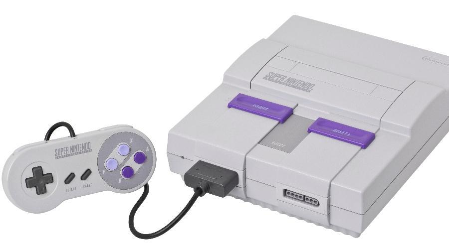A versão norte-americana do SNES foi lançada em agosto de 1991; no Japão, o console foi lançado em novembro de 1990 - Evan-Amos/wikipedia.org