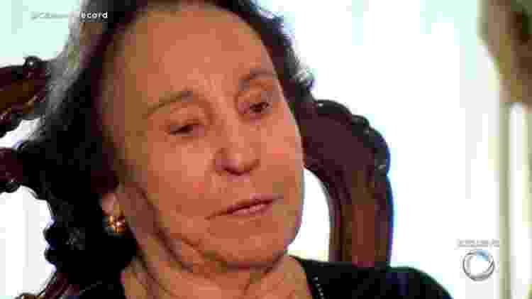 Maria do Céu, mãe de Gugu Liberato - Reprodução/vídeo - Reprodução/vídeo