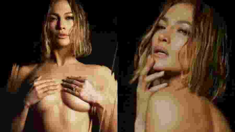 Jennifer Lopez tira a roupa em teaser de música - Reprodução/Instagram