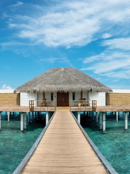 Casas flutuantes nas Maldivas - Matheen Faiz