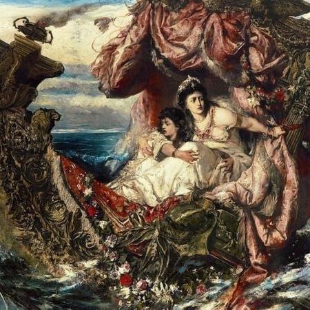 """""""O Naufrágio de Agripina"""", de Gustave Wertheimer, ilustra uma das tentativas de Nero de se livrar da mãe para sempre - Getty Images"""