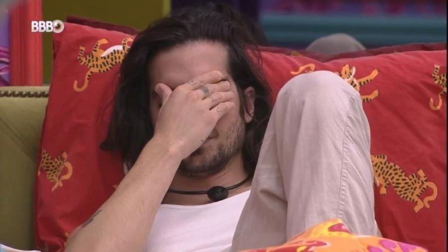 BBB 21: Fiuk chora após saber que será indicado ao paredão - Reprodução/Globoplay