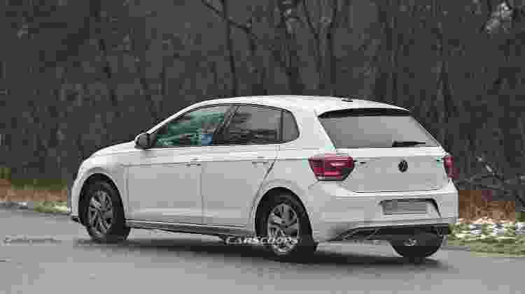 Flagra Volkswagen Polo - Reprodução/Carscoops - Reprodução/Carscoops