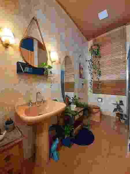 Mais detalhes do banheiro do arquiteto - Arquivo pessoal - Arquivo pessoal
