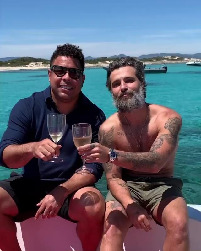 Ronaldo e Bruno Gagliasso