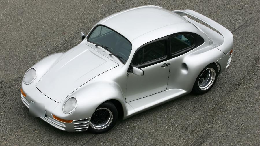 Fusca Cintra reproduz visual do Porsche 959 e só 3 exemplares foram feitos; pioneiro foi restaurado e teve proposta de R$ 300 mil - Arquivo pessoal