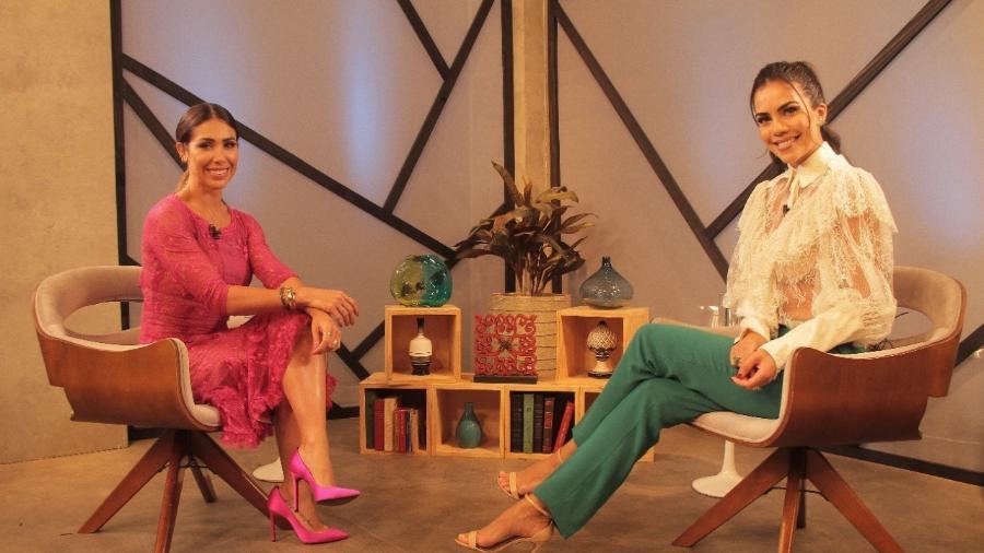 Bella Falconi é entrevistada por Daniela Albuquerque - Divulgação