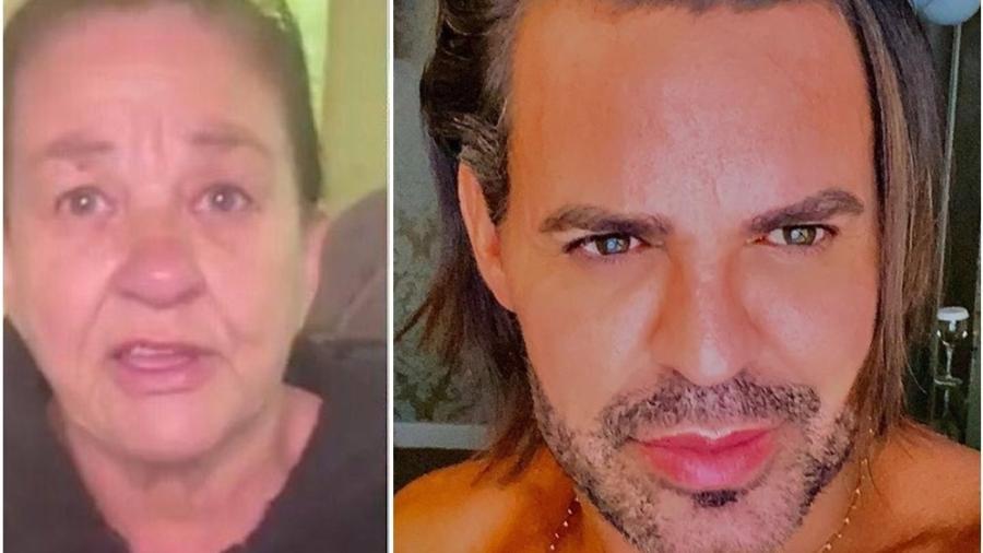 Eduardo Costa se recusou a fazer DNA com mulher que diz ser sua mãe biológica - Reprodução