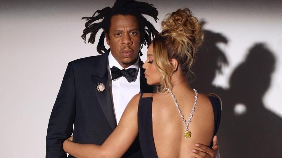 Beyoncé e Jay-Z em campanha da Tiffany - Reprodução/Instagram