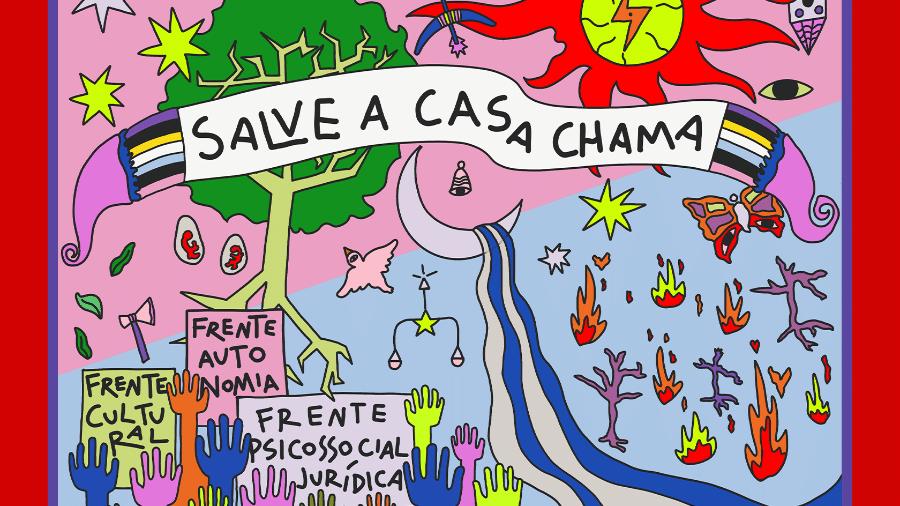 Casa Chama faz crowdfunding para dar continuidade a trabalho com pessoas trans - Divulgação