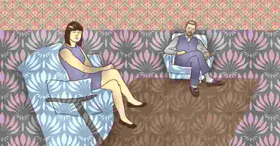 O fim do namoro ou do casamento não precisa representar um ponto final na relação de respeito e admiração estabelecida com o ex-parceiro. Tudo depende de como ambos vão se comportar no momento da ruptura e no período imediatamente posterior a ela. Agir com cautela nessa fase ajuda, inclusive, a minimizar a dor da separação, tornando mais fácil virar a página e seguir adiante - Didi Cunha/Arte UOL
