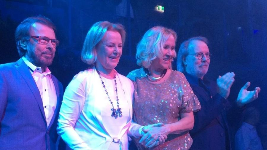 Integrantes do ABBA se reencontraram na Suécia em 2016 - Reprodução/Facebook