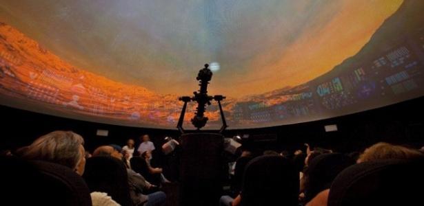 O planetário da UFMG recebe projeções de filmes sobre astronomia - Divulgação