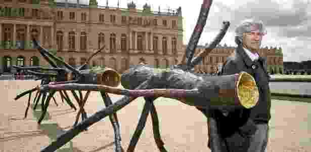 Obras de Giuseppe Penone estarão no novo museu - Divulgação