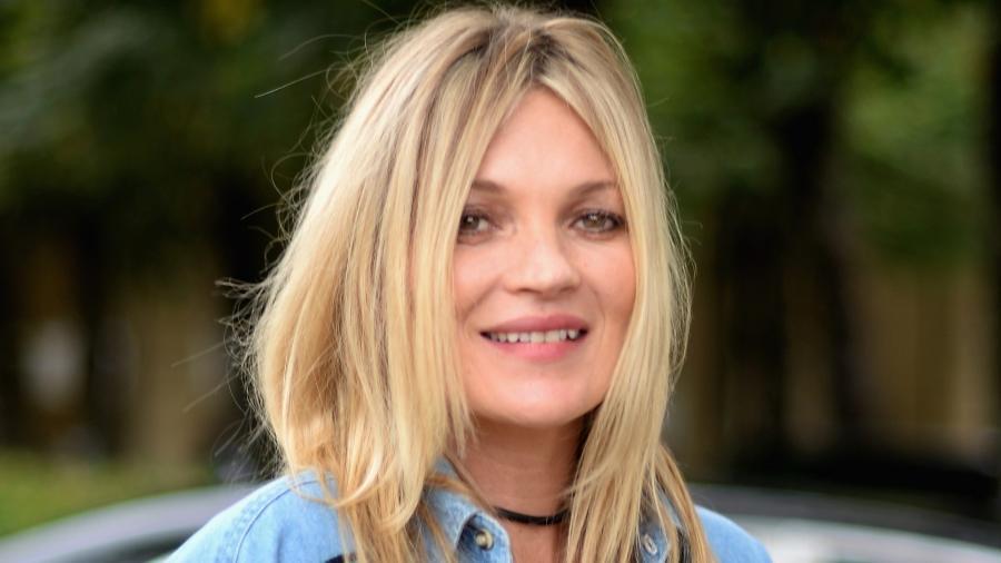 Kate Moss é referência de loiro também, num aberto levemente puxado para o dourado - Getty Images