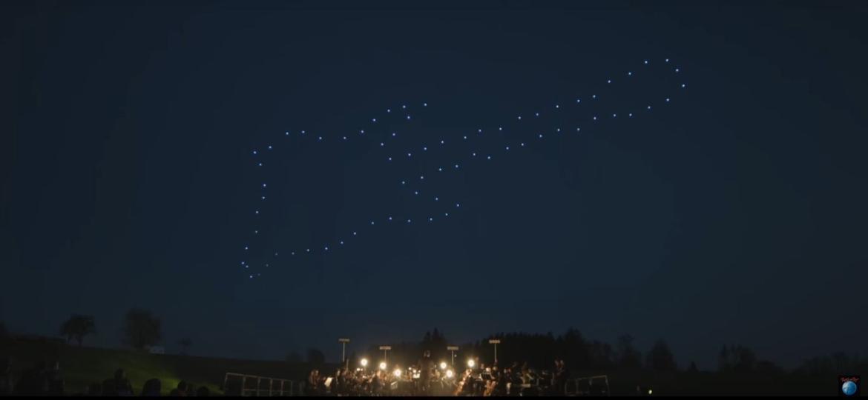 Rock in Rio terá show de drones iluminados nos intervalos dos shows no Rock in Rio - Divulgação