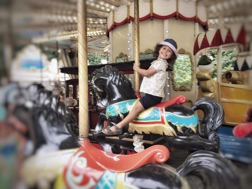 Guilhermina Guinle férias com filhos