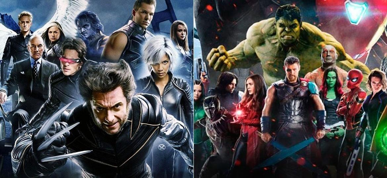 X-Men e Vingadores agora estão sob o guarda-chuva da Disney - Divulgação