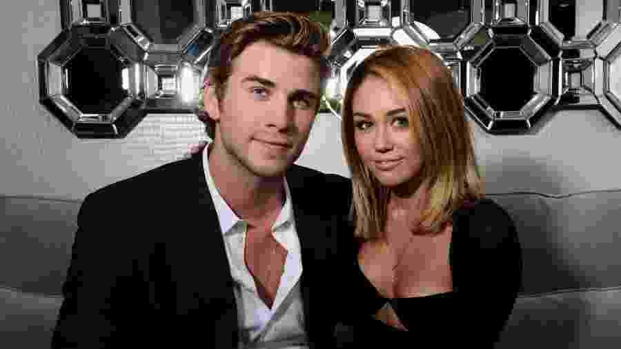 Liam Hemsworth e Miley Cyrus  - Getty Images
