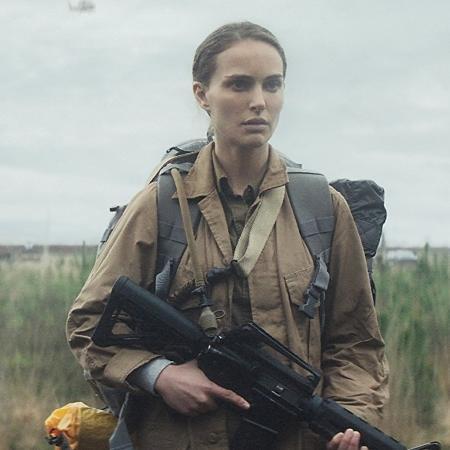 """Natalie Portman em cena de """"Aniquilação"""" - Divulgação"""